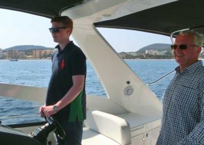Eindrücke Skippertraining SKS Deutsche Yacht Akademie Absolventen Mallorca Spanien