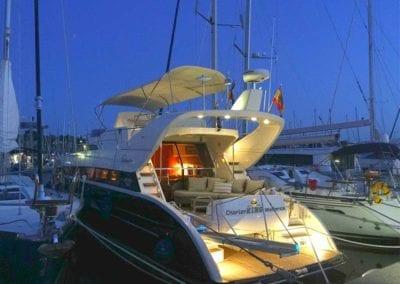 Eindrücke Yacht www.charterkingmallorca.com Deutsche Yacht Akademie Absolventen Mallorca Spanien