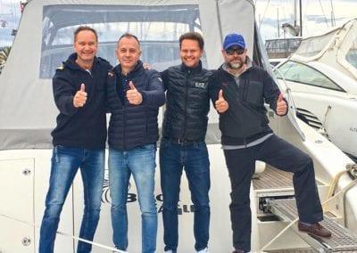 Deutsche Yacht Akademie Absolventen Prüflinge Bootsführerschein Mallorca Spanien 2018