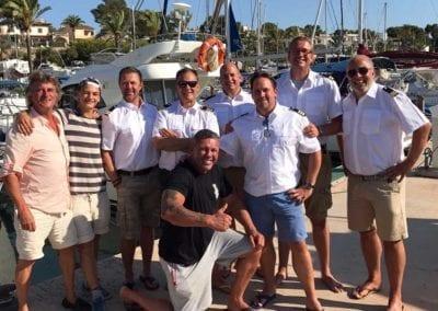 Bootsfahrschule Mallorca Kursteilnehmer Ausbildung Andreas Die Auswanderer Deutsche Yacht Akademie