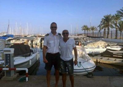 Absolvent der Bootsfahrschule Mallorca Deutsche Yacht Akademie