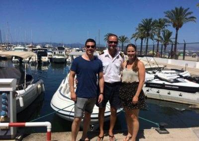 Bootsfahrschule Mallorca Kursteilnehmer Absolventen Ausbildung Deutsche Yacht Akademie