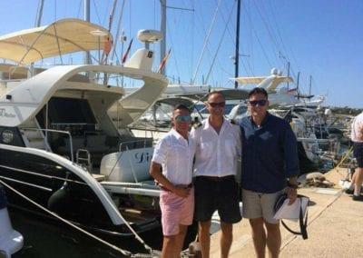 Bootsfahrschule Mallorca Kursteilnehmer Ausbildung Absolventen Deutsche Yacht Akademie