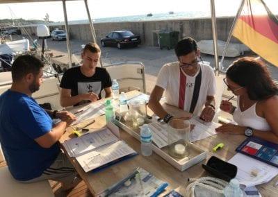 Bootsfahrschule Mallorca Kursteilnehmer Ausbildung Deutsche Yacht Akademie