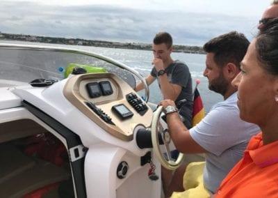 Bootsfahrschule Mallorca Kursteilnehmer Ausbildung Schiff Deutsche Yacht Akademie