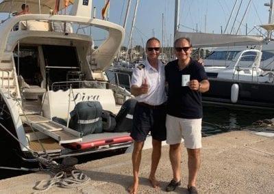 Bootsfahrschule Mallorca Absolvent Deutsche Yacht Akademie