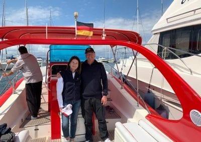Bootsfahrschule Mallorca Absolventin Deutsche Yacht Akademie